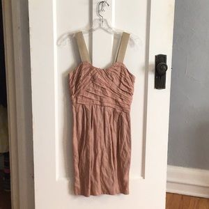 Blush pink J Crew dress size 2